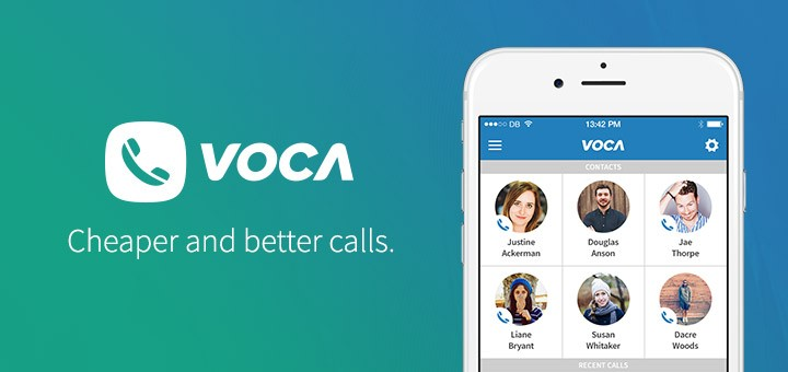 Voca - one of the best apps like skype