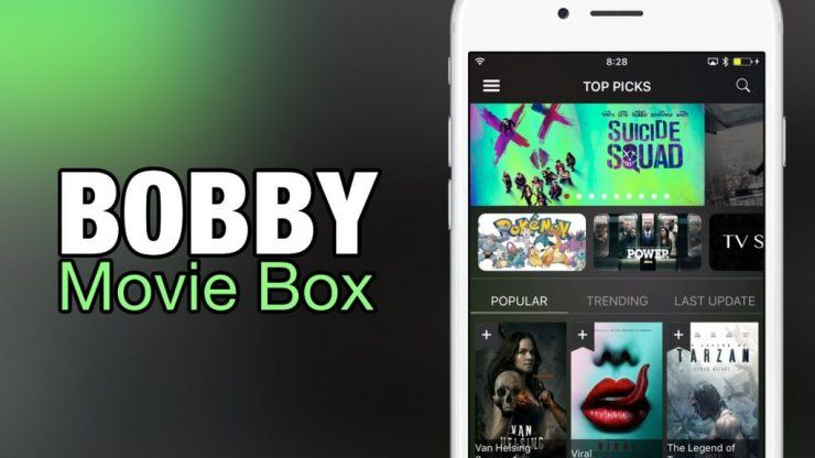Bobby Movie Box - Apps like Showbox