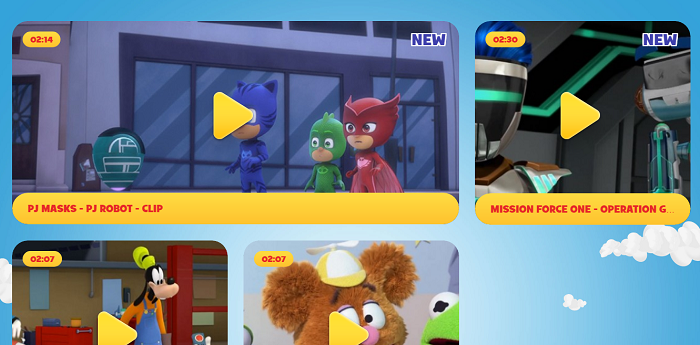 Disney Junior - Kisscartoon Alternative site