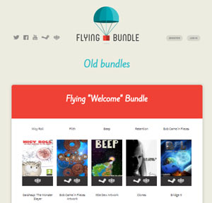 Flying Bundles- humble bundle alternatives