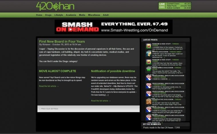 420chan- similar sites to tehparadox