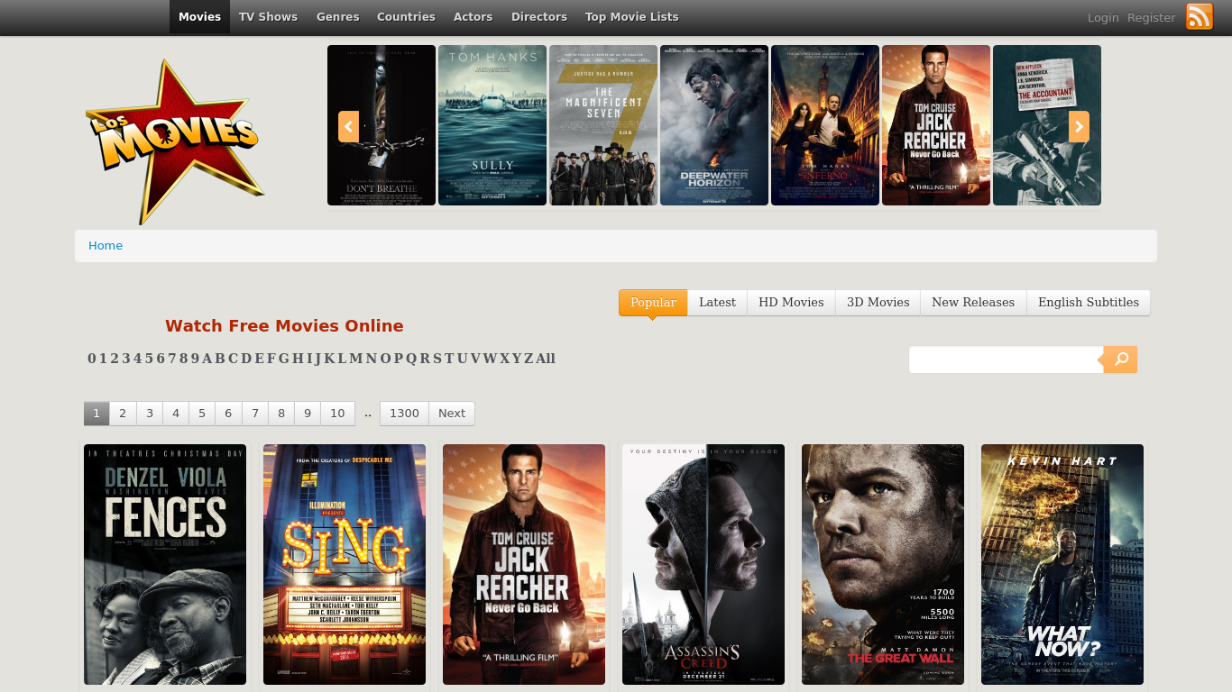 Los Movies, Watch movies online