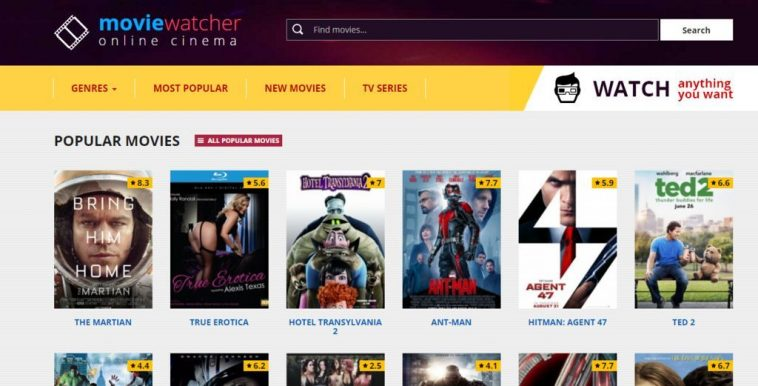 MovieWatcher- Alternative to FMovies