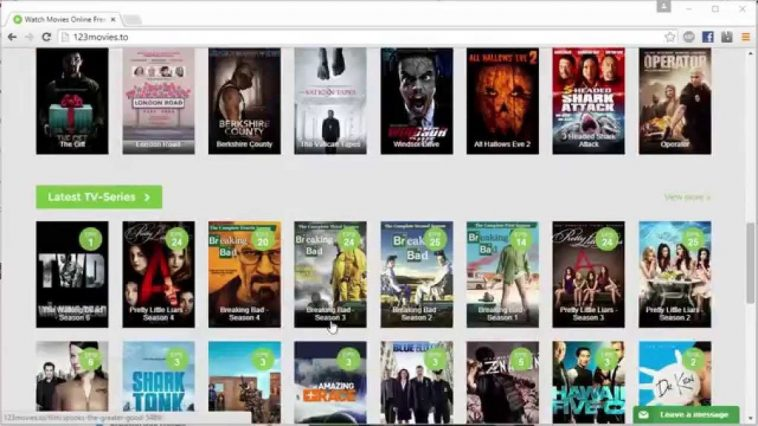 123movies, Similar sites to yesmovies