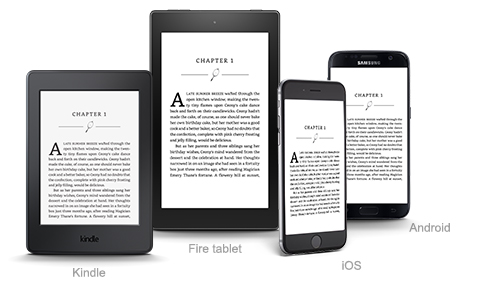 Kindle homepage