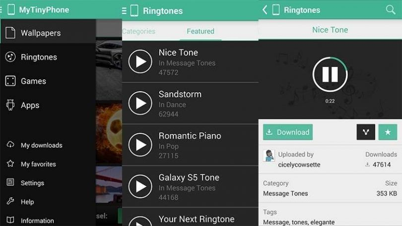 MTP-Ringtones-Wallpapers