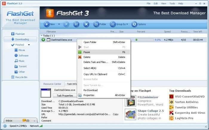 FlashGet-Downloader