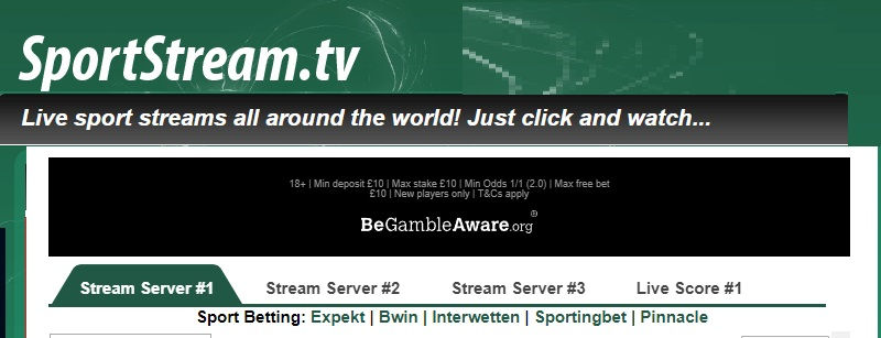 SportStream.tv-screenshot